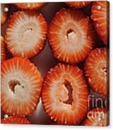 Strawberry Bliss Acrylic Print by Luke Moore