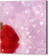 Strawberry  Acrylic Print