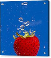 Strawberry Soda Dunk 6 Acrylic Print