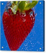 Strawberry Soda Dunk 7 Acrylic Print
