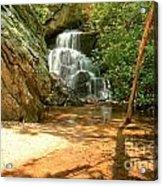 Stream To The Falls Acrylic Print