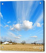 Streaming Sky Acrylic Print