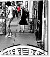 Street Farewell Acrylic Print