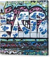 Street Graffiti - Tubs II Acrylic Print