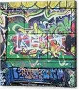 Street Graffiti - Tubs IIi Acrylic Print