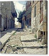 Street In Safed Acrylic Print