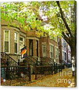 Windsor Terrace Acrylic Print