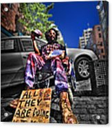 Street Life 4 Acrylic Print