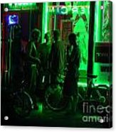 Street Life After 2 Acrylic Print