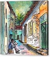 Street Life In Nicosia Acrylic Print