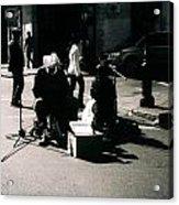 Street Musicians- Grandpa Elliot Acrylic Print
