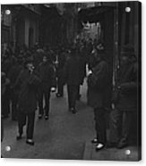 Street Of The Gamblers Ross Alley Acrylic Print