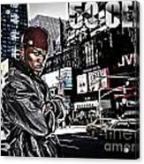 Street Phenomenon 50 Cent Acrylic Print