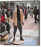 Street Tap Dancers No. One Acrylic Print