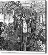 Streetcar, 1876 Acrylic Print by Granger