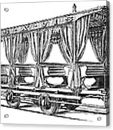 Streetcar, C1880 Acrylic Print
