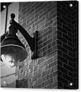 Streetlamp Acrylic Print by Eric Gendron