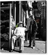 Streets Of New York 8 Acrylic Print