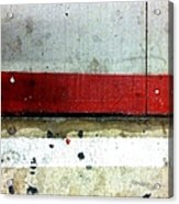 Streets Of New York Abstract Eight Acrylic Print