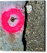 Streets Of Tucson 117 Acrylic Print
