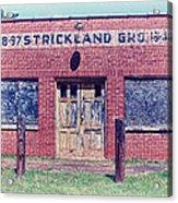 Strickland Grocery Acrylic Print