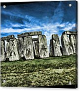 Striking Scene Of Stonehenge Acrylic Print