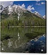 String Lake Panorama Acrylic Print