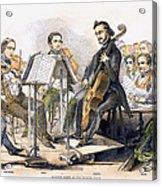 String Quartet, 1846 Acrylic Print