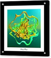 String Theory D Acrylic Print