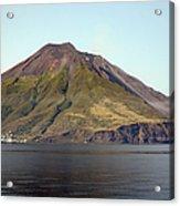 Stromboli Volcano, Aeolian Islands Acrylic Print by Richard Roscoe