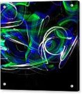Stuck On Replay 9 Acrylic Print by Cyryn Fyrcyd