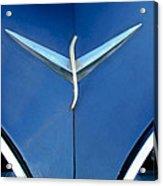 Studebaker Hood Emblem Acrylic Print