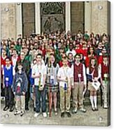 Students Catholic Schools 2007 Acrylic Print