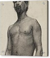 Study Of A Negro Man Acrylic Print