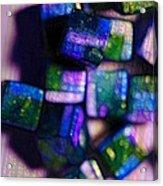 Study Of Beads And Yarn Acrylic Print
