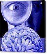 Studying The Brain, Conceptual Image Acrylic Print