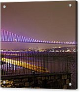 Stunning Istanbul Bridge Acrylic Print