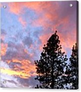 Stunning Spring Sky Acrylic Print