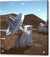 Submillimetre Array Telescopes Acrylic Print