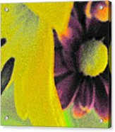Subterranean Memories 15 - The Embrace Acrylic Print