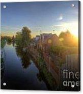 Suburban Sunrise 6.0 Acrylic Print