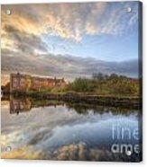 Suburban Sunrise Reflection  Acrylic Print