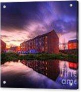 Suburban Sunset 1.0 Acrylic Print