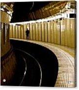 Subway Curve Acrylic Print