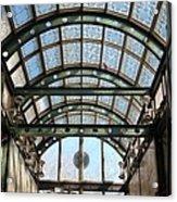 Subway Glass Station Acrylic Print
