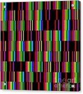 Sudoku Regular Vertical Lines Acrylic Print
