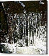 Suds Falls Acrylic Print