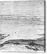 Suez Canal: Lake, 1869 Acrylic Print