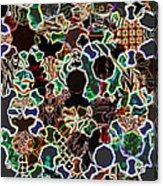 Sufi Pattern 6 Acrylic Print