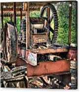 Sugar Cane Mill Acrylic Print by Tamyra Ayles